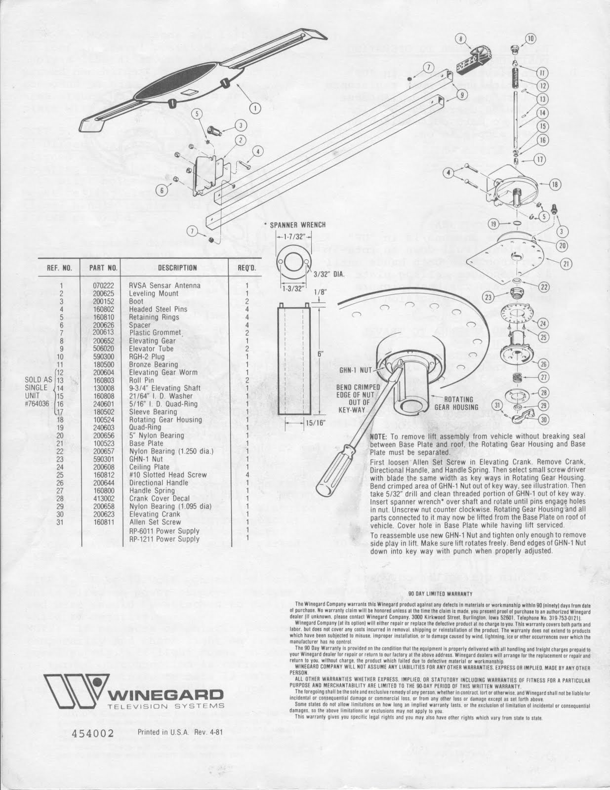 1983 fleetwood pace arrow owners manuals winegard rv tv antenna winegard carryout wiring diagram 1983 fleetwood